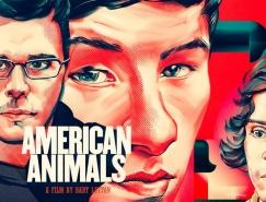 American Animals电影海报插画设计
