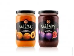 Agroyan's罐头果酱包装
