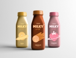 Milkyway奶昔品牌包裝設計