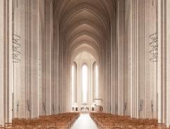 神圣的現代主義教堂空間設計