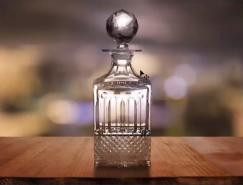 PS摳取透明香水玻璃瓶