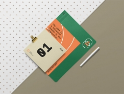 33款精美的国外信笺和信封设计合集