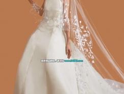 PS完美抠出透明婚纱照片
