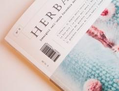植物杂志Herbaria版面和排版设计