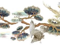 dasha denke动物与自然主题插画作品