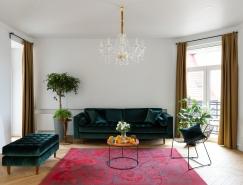 基辅76m²怀旧风格公寓设计