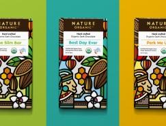 精美的插画元素 Nature Organic手作有机巧克力包装澳门金沙真人