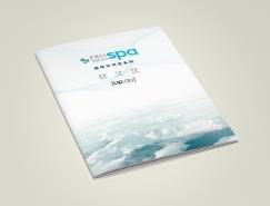 极地冰河泥产品目录画册设计
