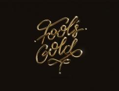 20款高贵的3D金色字体澳门金沙真人