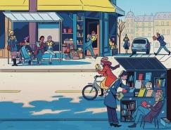 Steve Scott复古又时尚的商业插画作品