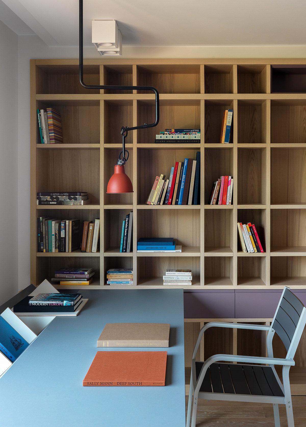 鲜艳的色调 清新的自然风格:巴塞罗那彩虹色家居设计