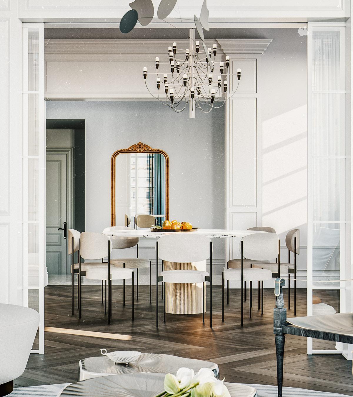 3个新古典主义风格的现代住宅