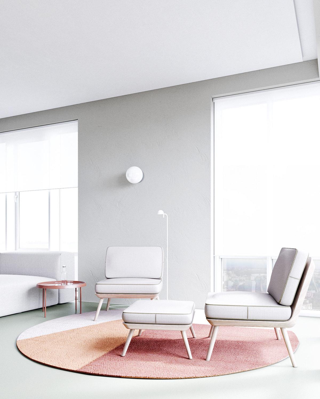 3个使用红色调风格的现代家居装修