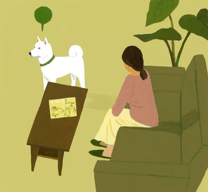 人,狗,自然:Hiroyuki Izutsu美丽插画作品