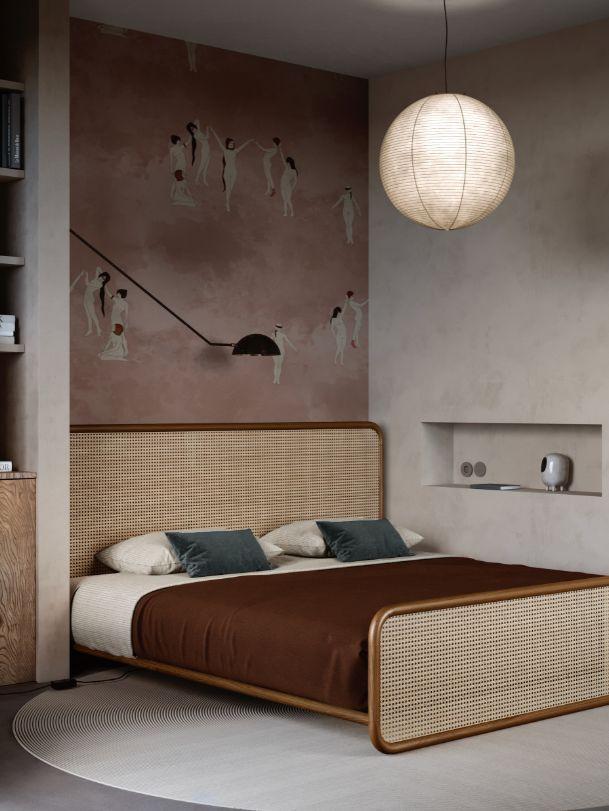 50个温馨舒适的卧室设计欣赏