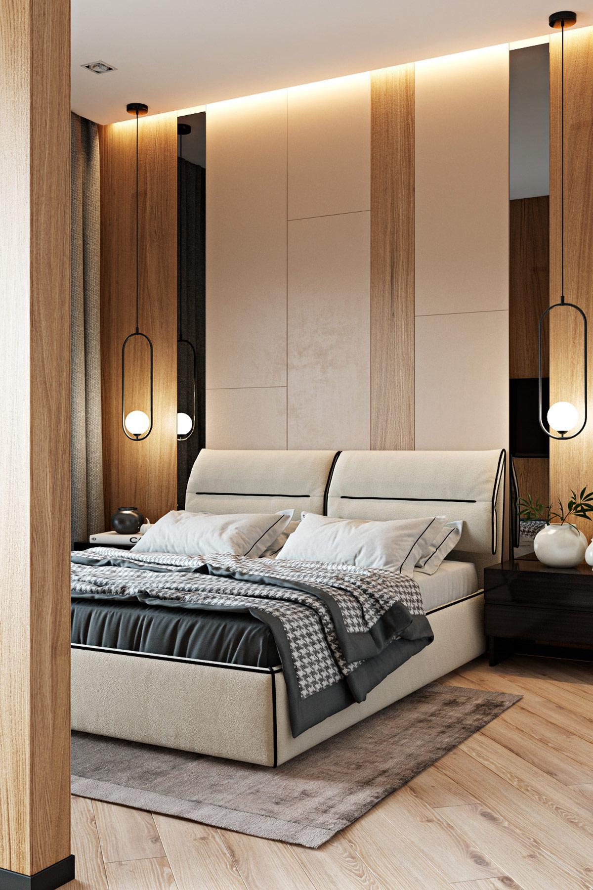 温馨现代开放式空间的三居室设计