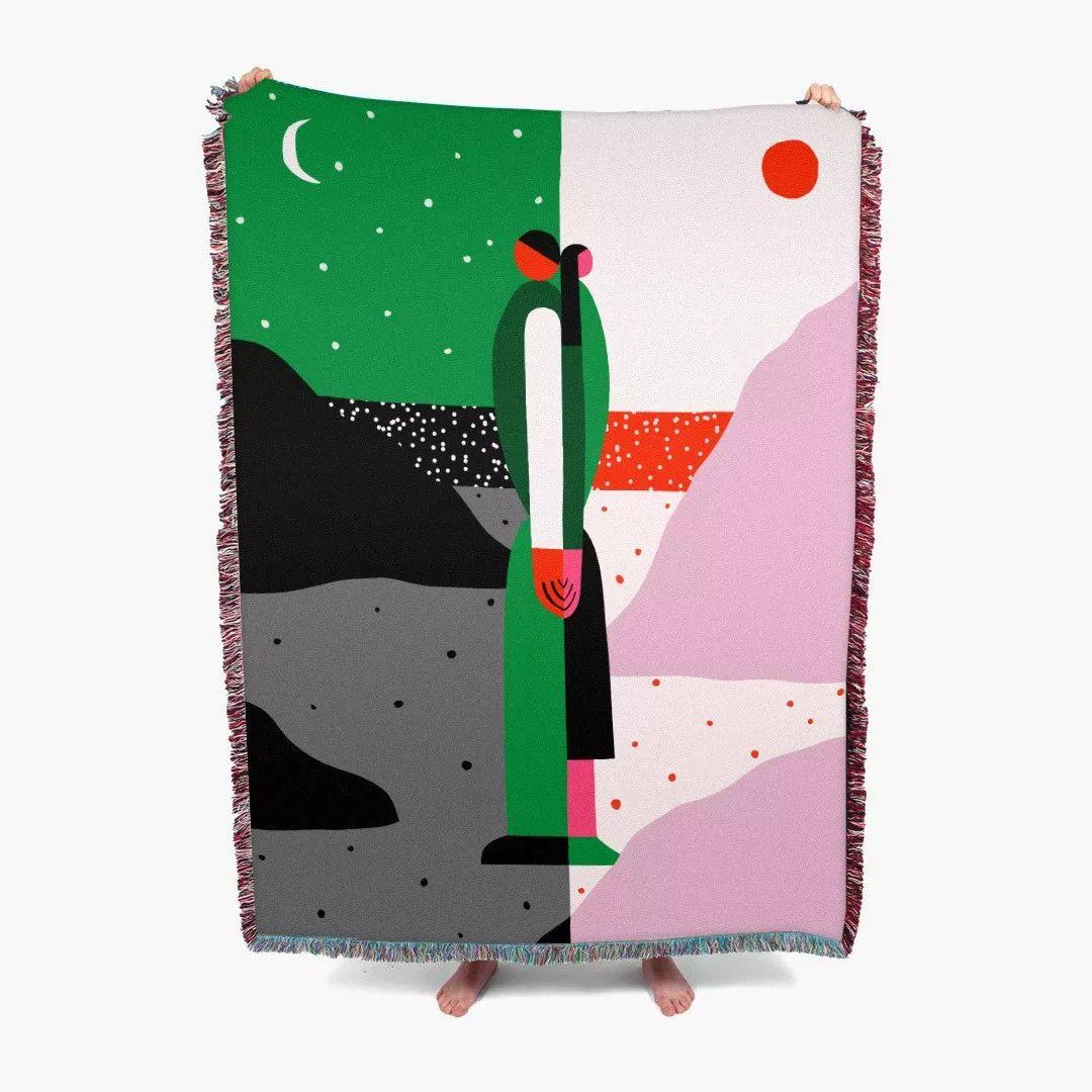 大胆的着色 夸张的造型: Anastacia Sholik插画欣赏