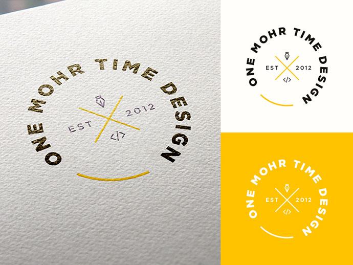 40款国外徽章风格字体logo设计