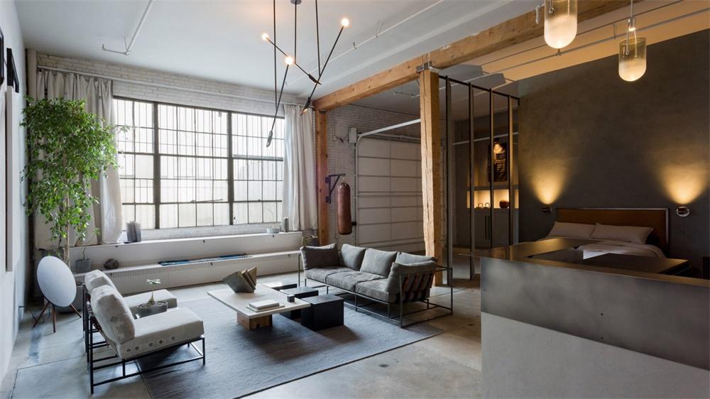 洛杉矶百年厂房改造成loft公寓