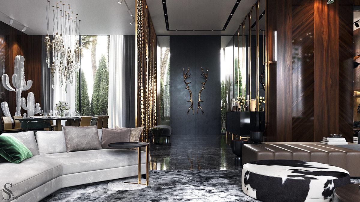 摩洛哥现代豪华别墅设计