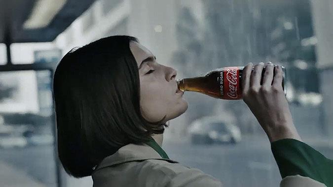 可口可乐宣传广告 舌头味道之旅