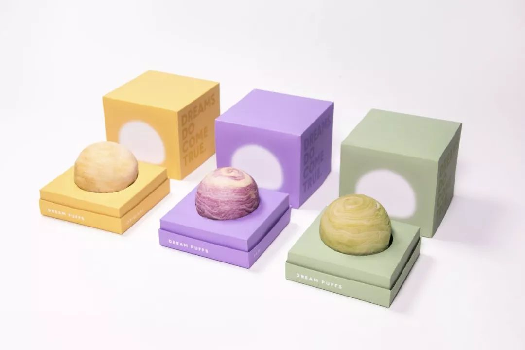Dream Puffs泡芙包装设计