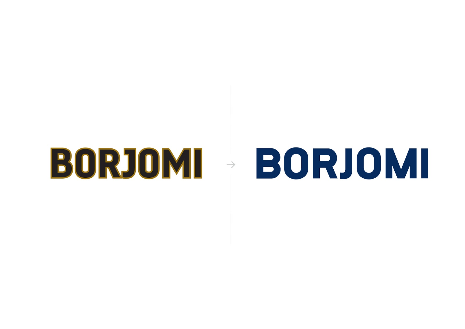 Borjomi矿泉水品牌包装设计