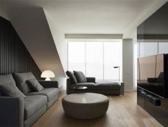 简约美丽的152平复式公寓皇冠新2网