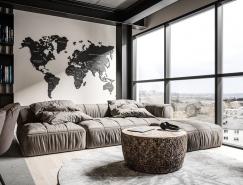 3个现代工业风灰色系公寓365bet