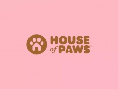House of Paws寵物中心品牌視覺設計