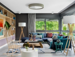 鲜艳的色调 清新的自然风格:巴塞罗那彩虹色家居