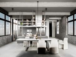 51款灰色调的家居餐厅365bet