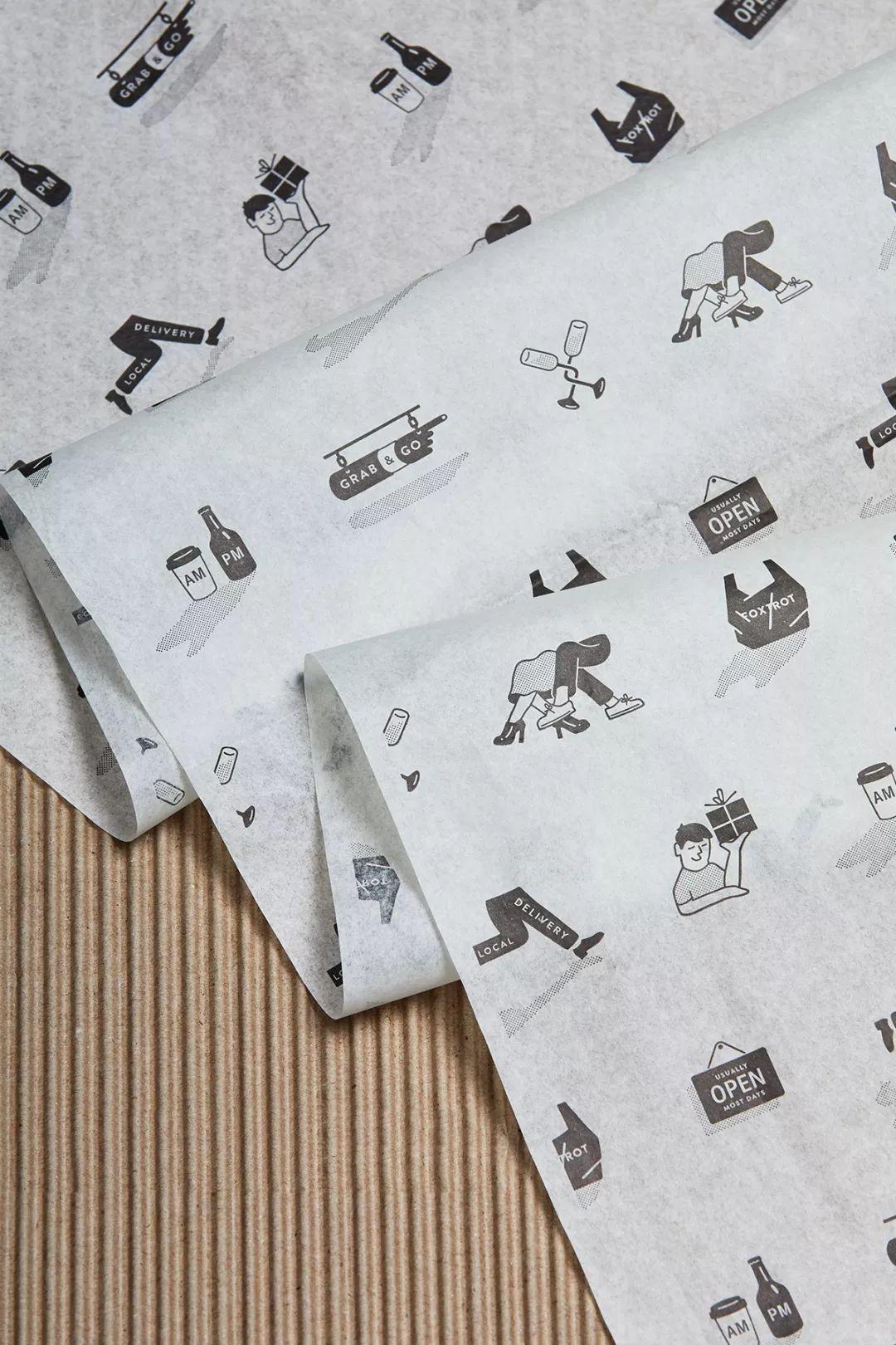 Foxtrot Delivery Market咖啡馆品牌视觉设计