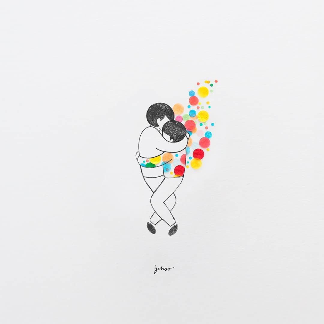物品与绘画相结合:Jesuso Ortiz的创意插画作品