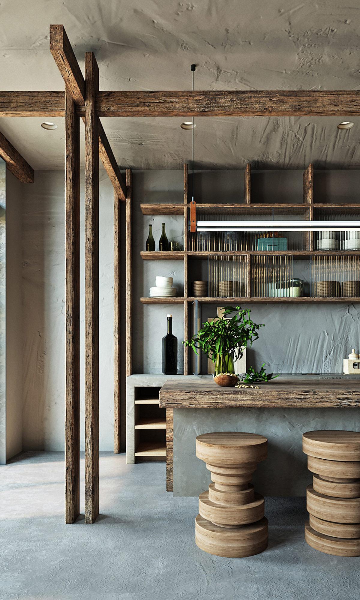 深色调的传统优雅:东南亚风格室内装修设计