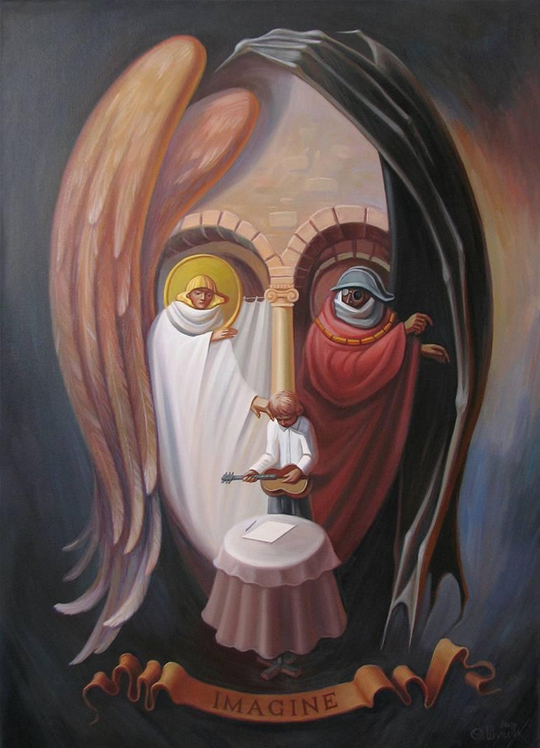 乌克兰Oleg Shupliak双重视�错觉绘画艺术