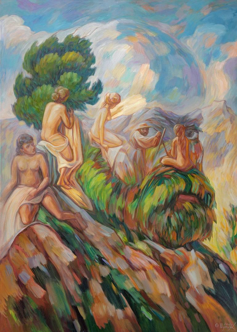 乌克兰Oleg Shupliak双重视错觉∏绘画艺术