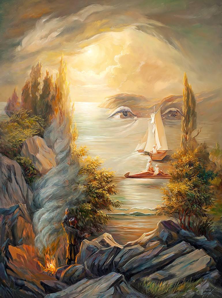 乌克兰Oleg Shupliak双重视』错觉绘画艺术