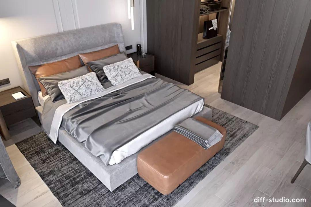 乌克兰低调而华丽的公寓设计