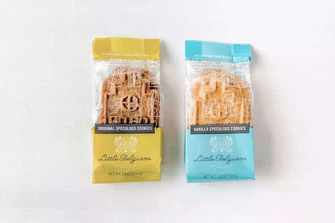 Little Belgians饼干包装设计