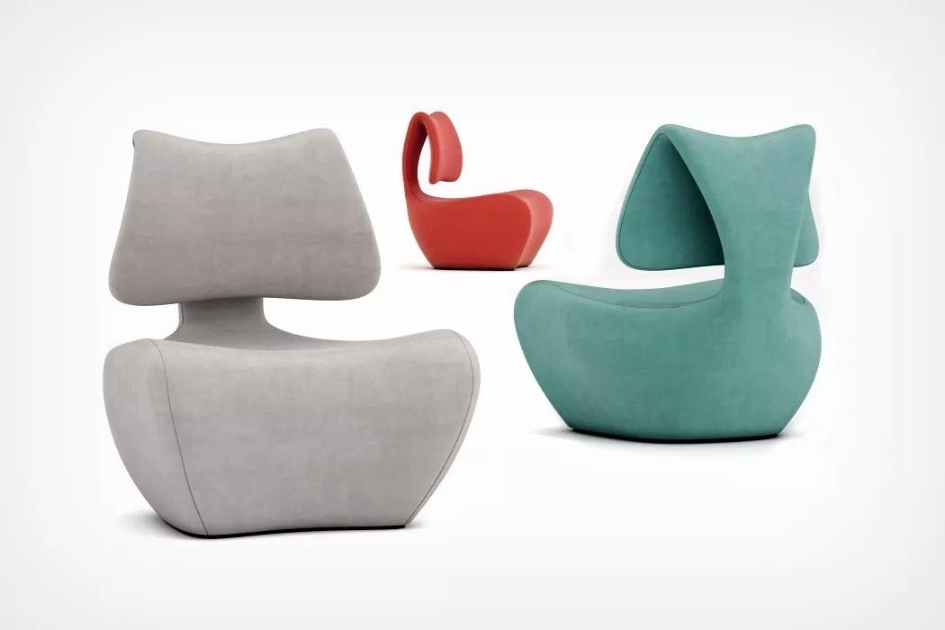 灵感来自椎骨的Beel椅子设计