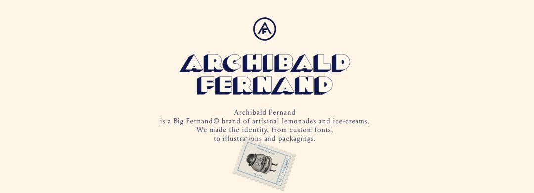 Big Fernand汉堡餐厅品牌视觉设计
