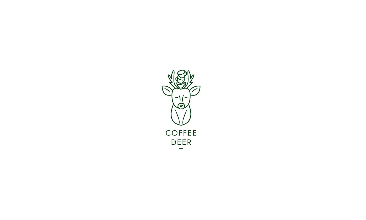 Rose van der Ende极简有趣的标志设计作品