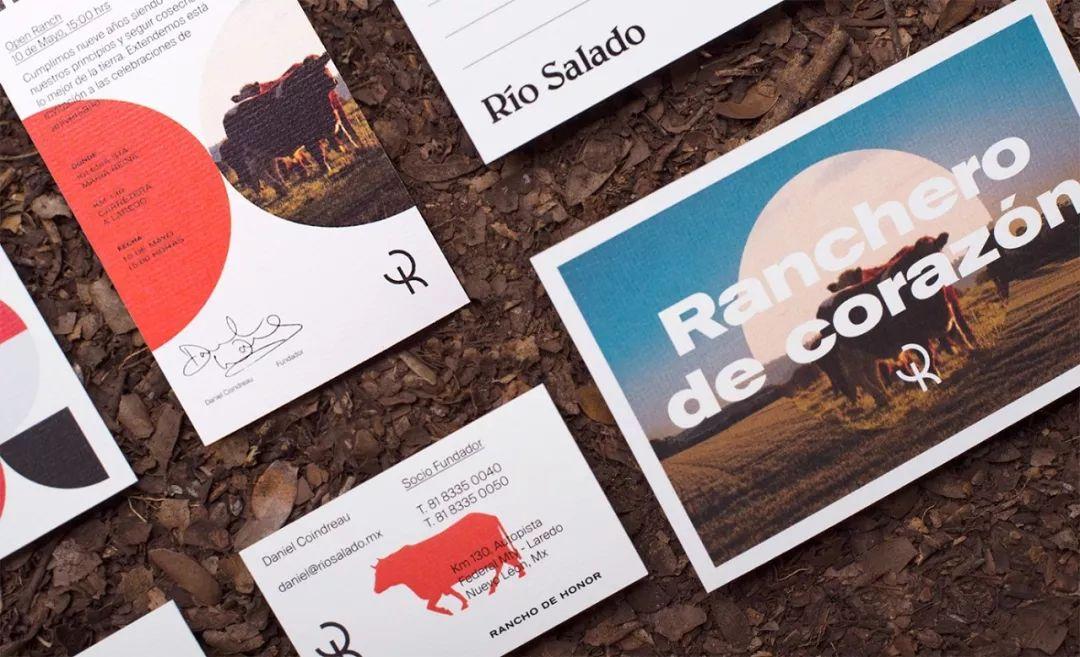 Río Salado养牛场品牌VI设计