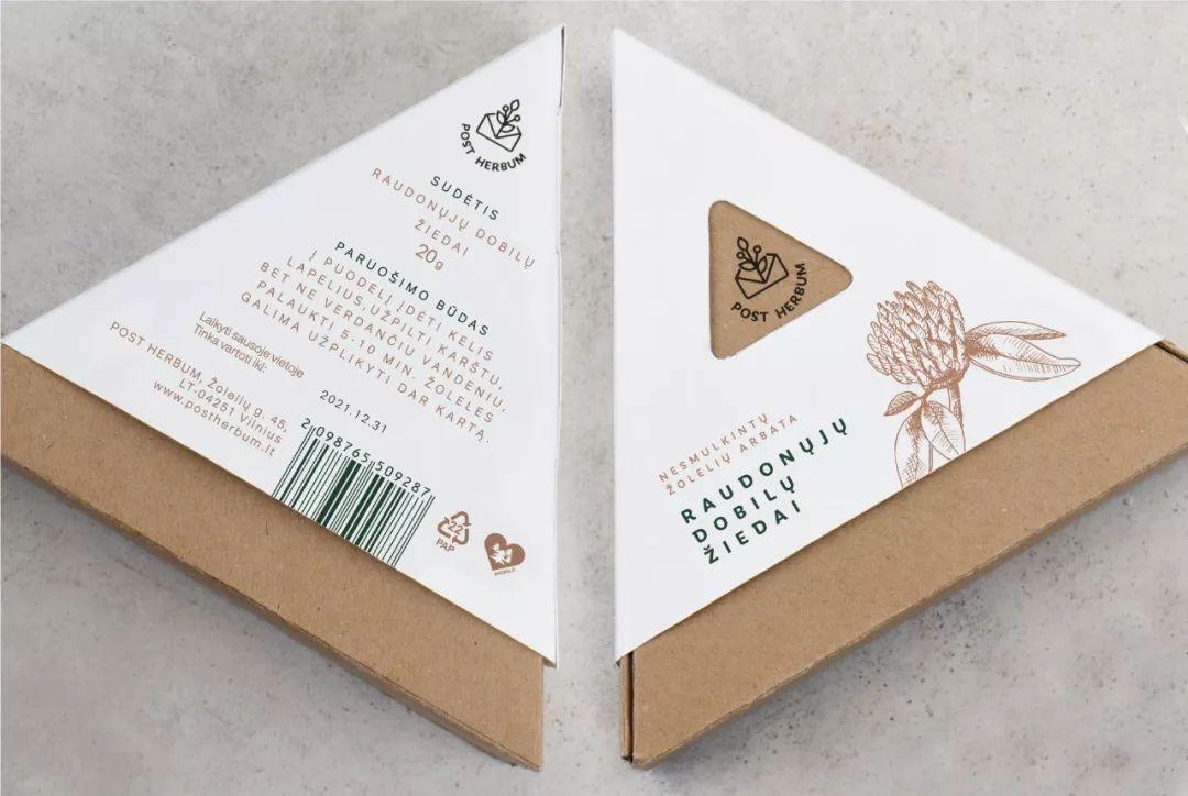 立陶宛药草品牌POST HERBUM自然环保的包装设计