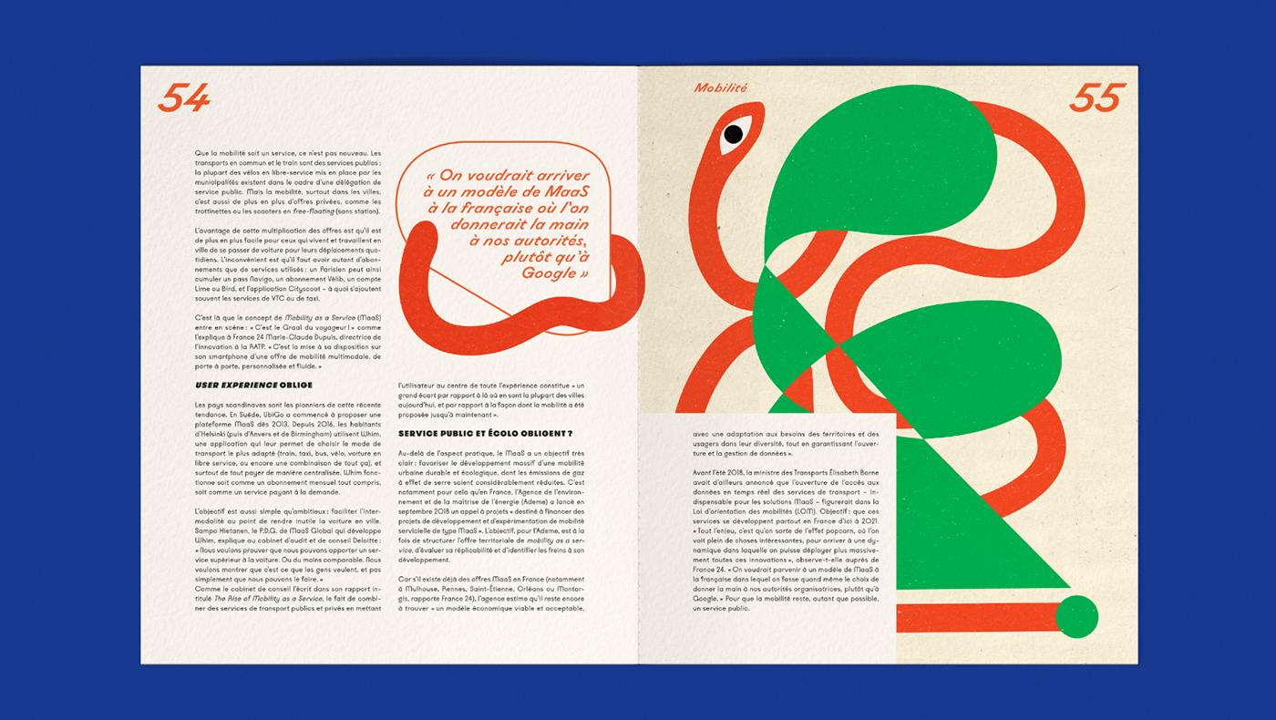 Yellow Vision杂志版式设计欣赏