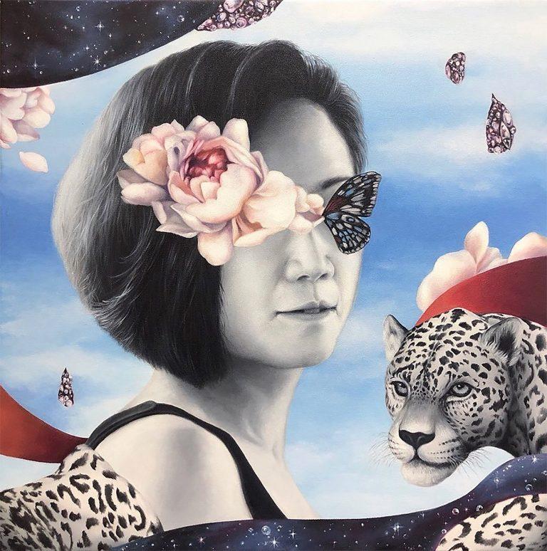 Pang Torsuwan拼贴风格的创意插画作品