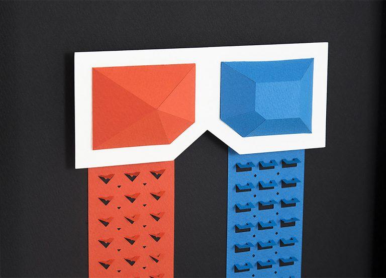 韩国工作室DOTMOT精美纸艺作品欣赏