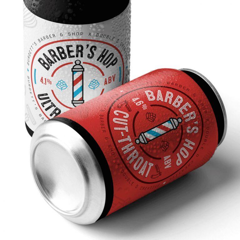 Barber's Hop啤酒包装设计