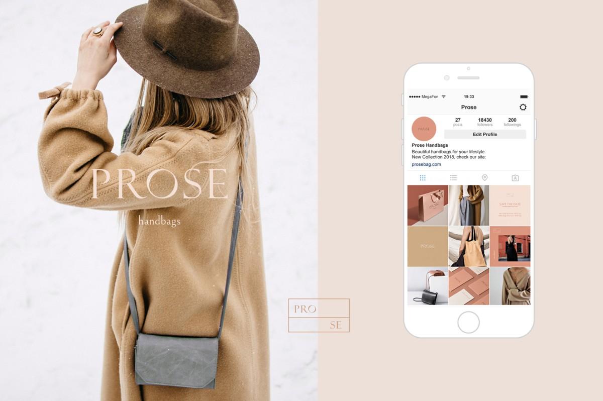 荷兰新时尚品牌PROSE视觉形象设计